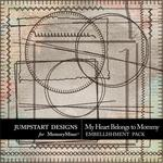 My Heart Belongs to Mommy Stitches-$1.75 (Jumpstart Designs)