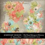 My Heart Belongs to Mommy Splatters-$2.49 (Jumpstart Designs)