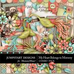 My Heart Belongs to Mommy Combo Pack-$7.99 (Jumpstart Designs)