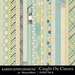 Caught On Camera Paper Pack-$3.99 (Karen Lewis)