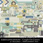 Caught On Camera Embellishment Pack-$2.99 (Karen Lewis)