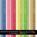 Queen For A Day Solid Paper Pack-$3.49 (Laura Burger)