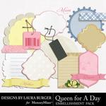 Queen For A Day Journals-$1.25 (Laura Burger)