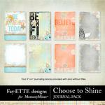 Choose to Shine Journal Pack-$2.49 (Fayette Designs)