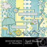 April Showers Mini Pack-$3.99 (Designs by Krista)