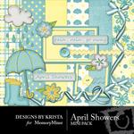 April Showers Mini Pack-$1.99 (Designs by Krista)