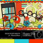 Happy Day Combo Pack-$2.50 (Designs by Krista)