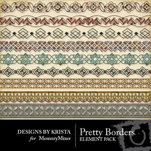 Pretty borders medium