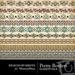 Pretty borders small