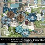 Beautiful Imagination Combo Pack-$4.99 (Laura Burger)
