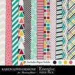 Energise Paper Pack-$3.99 (Karen Lewis)