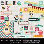 Energise Journaling Pack-$1.99 (Karen Lewis)