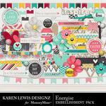 Energise Embellishment Pack-$2.99 (Karen Lewis)