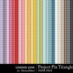 Project Pix 1 Triangle Paper Pack-$1.99 (Lindsay Jane)