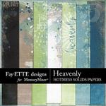 Heavenly Hotmess Solids Paper Pack-$3.99 (Fayette Designs)