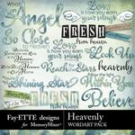 Heavenly WordArt Pack-$2.99 (Fayette Designs)
