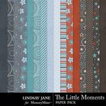 The Little Moments Paper Pack-$3.49 (Lindsay Jane)