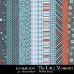 The Little Moments Extra Paper Pack-$1.99 (Lindsay Jane)