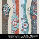 The Little Moments Borders-$1.99 (Lindsay Jane)