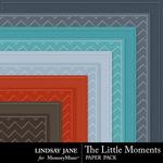 The Little Moments Embossed Paper Pack-$1.99 (Lindsay Jane)