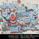 The Little Moments Embellishment Pack-$3.49 (Lindsay Jane)