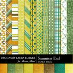 Summers End Paper Pack-$3.49 (Laura Burger)