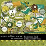 Summers End Embellishment Pack-$3.49 (Laura Burger)