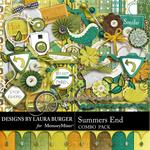 Summers End Combo Pack-$4.99 (Laura Burger)