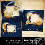 Stars Explorer QuickPages-$3.49 (Fly Pixel Studio)