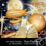 Stars Explorer Embellishment Pack-$2.99 (Fly Pixel Studio)