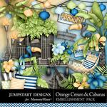 Orange Cream and Cabanas Tropical Retreat-$2.49 (Jumpstart Designs)