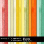 Happy LB Solid Paper Pack-$1.75 (Laura Burger)