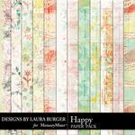 Happy LB Paper Pack-$3.49 (Laura Burger)