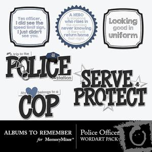 Policeofficer wordart preview medium
