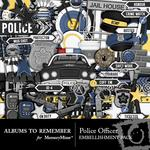 Police Officer Embellishment Pack-$3.49 (Albums to Remember)