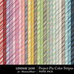 Project Pix 2 Stripe Paper Pack-$2.49 (Lindsay Jane)