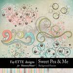 Sweet Pea Background Fancies-$2.99 (Fayette Designs)