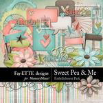 Sweet Pea Embellishments-$3.49 (Fayette Designs)