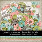 Sweet Pea and Me Embellishment Add On Pack-$3.49 (Jumpstart Designs)