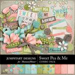 Sweet Pea and Me Combo Pack-$4.99 (Jumpstart Designs)