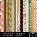 Art and Soul Paper Pack-$2.79 (Krista Sahlin)