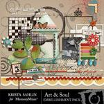 Art and Soul Embellishment Pack-$2.79 (Krista Sahlin)