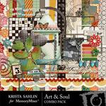 Art and Soul Combo Pack-$4.99 (Krista Sahlin)