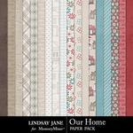 Our Home Paper Pack-$3.49 (Lindsay Jane)