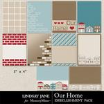 Our Home Journal Cards-$1.39 (Lindsay Jane)
