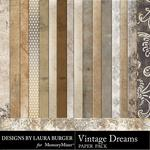 Vintage Dreams Paper Pack 2-$1.75 (Laura Burger)