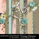 Vintage Dreams Borders-$2.49 (Laura Burger)