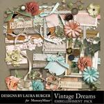 Vintage Dreams Embellishment Pack-$3.49 (Laura Burger)