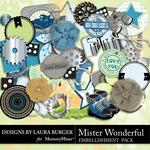 Mister Wonderful Embellishment Pack-$3.49 (Laura Burger)