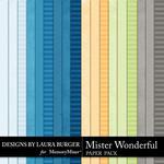 Mister Wonderful Solid Paper Pack-$3.49 (Laura Burger)